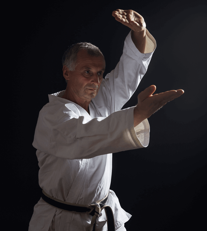 Martial Arts Lessons for Adults in _Cobourg_ _ON_ - Older Man