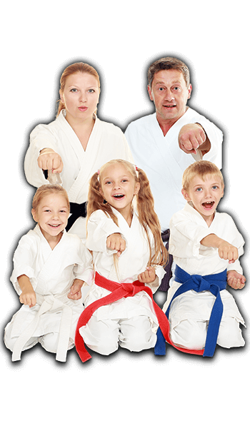 Martial Arts Lessons for Families in _Cobourg_ _ON_ - Sitting Group Family Banner