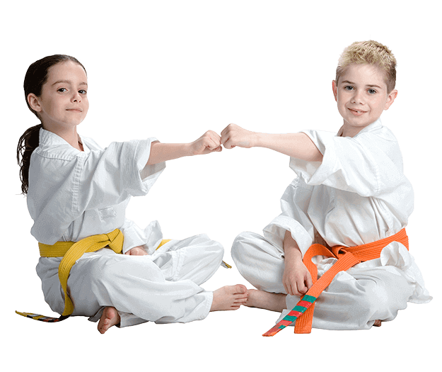 Martial Arts Lessons for Kids in _Cobourg_ _ON_ - Kids Greeting Happy Footer Banner