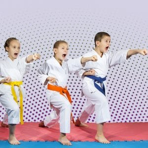 Martial Arts Lessons for Kids in _Cobourg_ _ON_ - Punching Focus Kids Sync