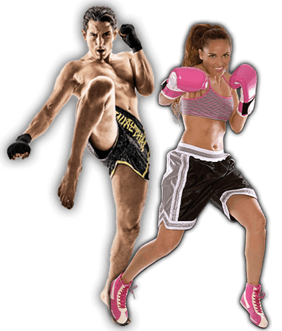 Fitness Kickboxing Lessons for Adults in _Cobourg_ _ON_ - Kickboxing Men and Women Banner Page