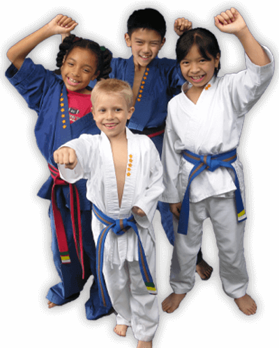 Martial Arts Summer Camp for Kids in _Cobourg_ _ON_ - Happy Group of Kids Banner Summer Camp Page